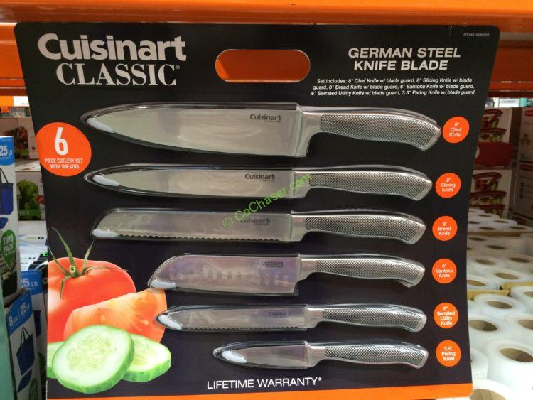 Costco 1036556 Cuisinart Graphix Knife0 Set Stainless