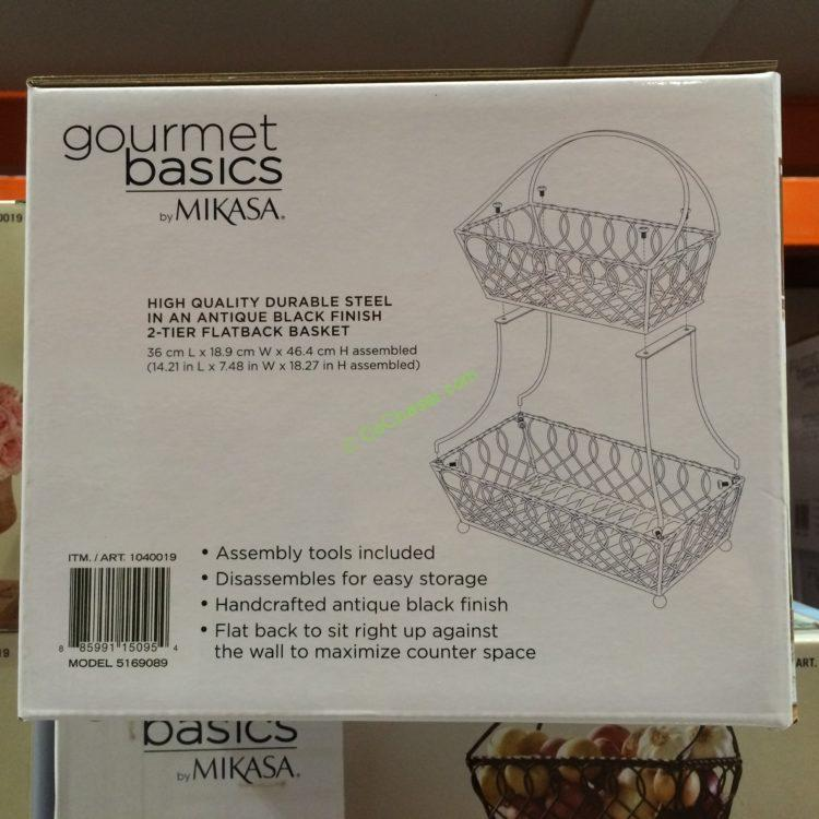 Costco-1040019-Gourmet-Basics-Mikasa-2Tier-Basket-Flatback-Loop-Lattice-part