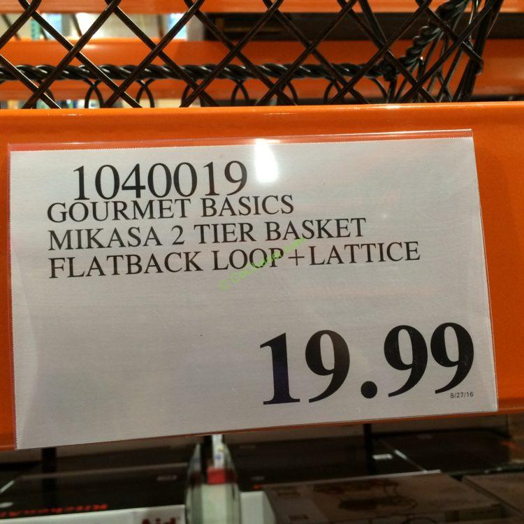 Costco-1040019-Gourmet-Basics-Mikasa-2Tier-Basket-Flatback-Loop-Lattice-tag