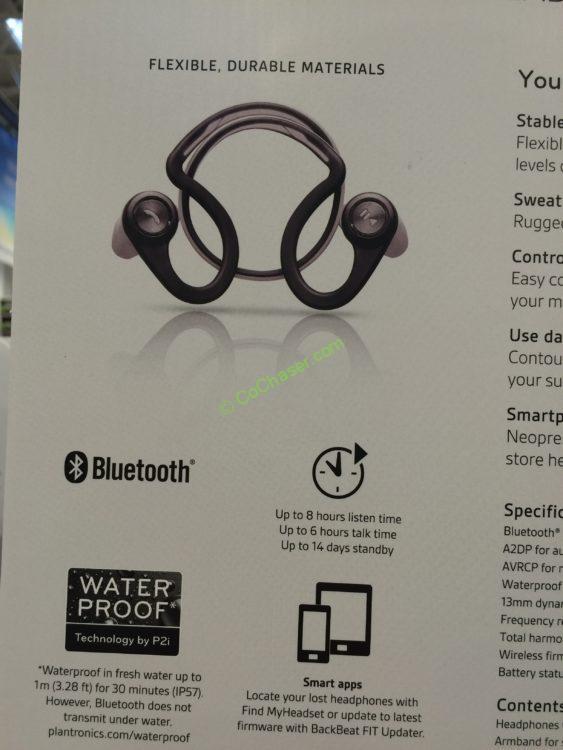 Costco-1040444-Plantronics-BackBeat-Fit-Bluetooth-Sport-Headphones