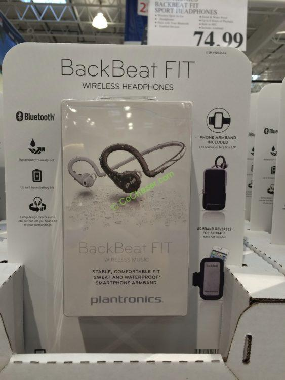 Plantronics BackBeat Fit Bluetooth Sport Headphones with Armband