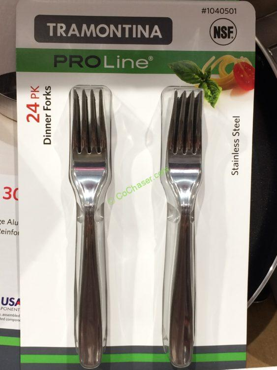 Tramontina stainless steel 24pk dinner forks costcochaser for Yamaha 88 key digital piano costco