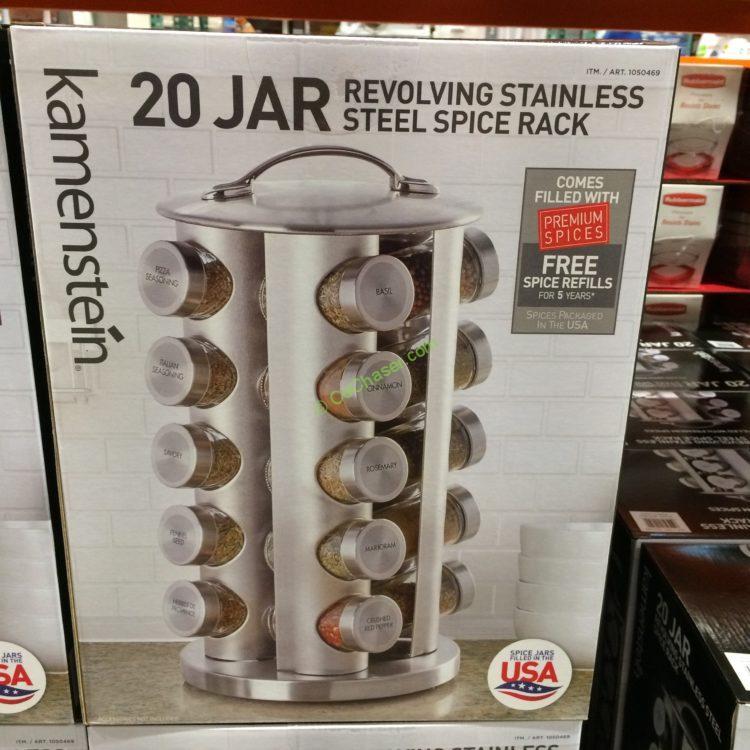 Costco Home Store Locations: Kamenstein 20 Jar Spice Rack