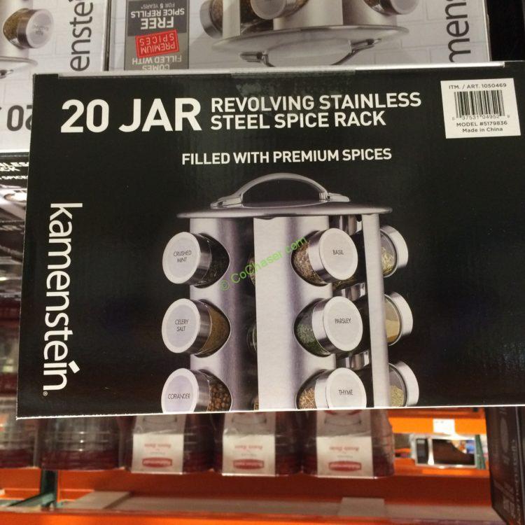 Costcochaser: Kamenstein 20 Jar Spice Rack