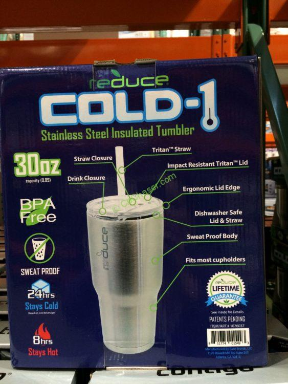 349c496f0fe Reduce Cold-1 Stainless Steel 30OZ Tumbler 2 Pack – CostcoChaser