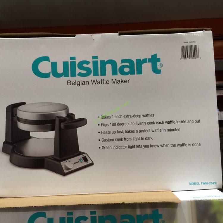 Costcochaser: Cuisinart Single Belgian Waffle Maker
