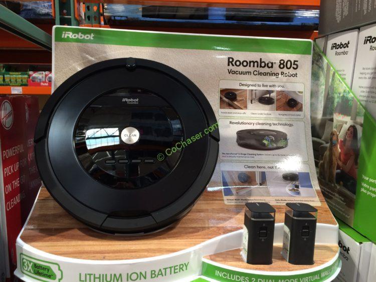 Irobot Roomba 805 Vacuum Cleaning Robot Costcochaser