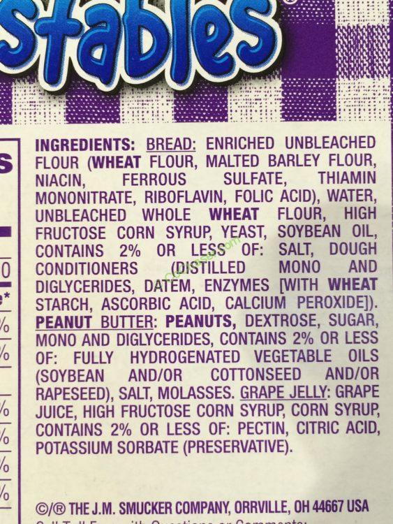 Smuckers Uncrustables Peanut Butter Amp Grape 18 2 8 Oz