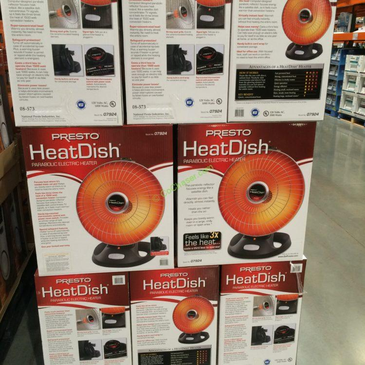 Costcochaser: Presto Heatdish Parabolic Heater