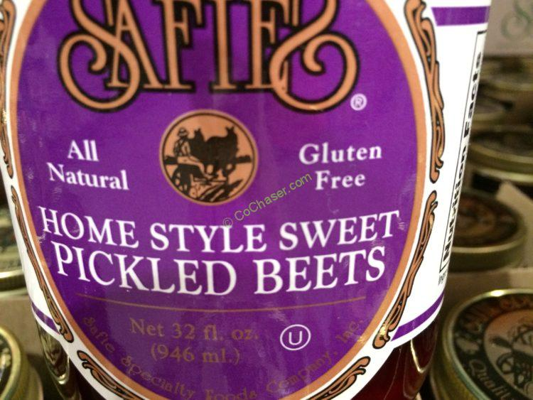 Safie S Sweet Pickled Beets 32 Ounce Jar Costcochaser