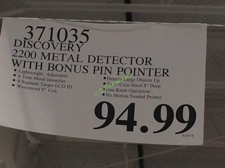 Costco-371035-Discovery-22000Metal-Detector-tag