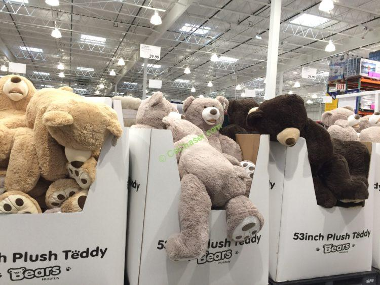 Blue Big Teddy Bear, Hugfun 53 Plush Bear Costcochaser
