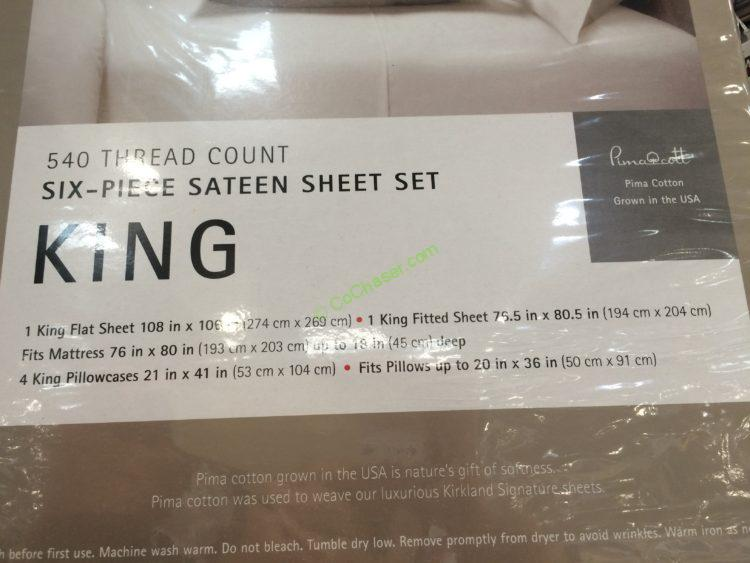 Costco-577765-Kirkland-Signature-Sheet-Set-King-face