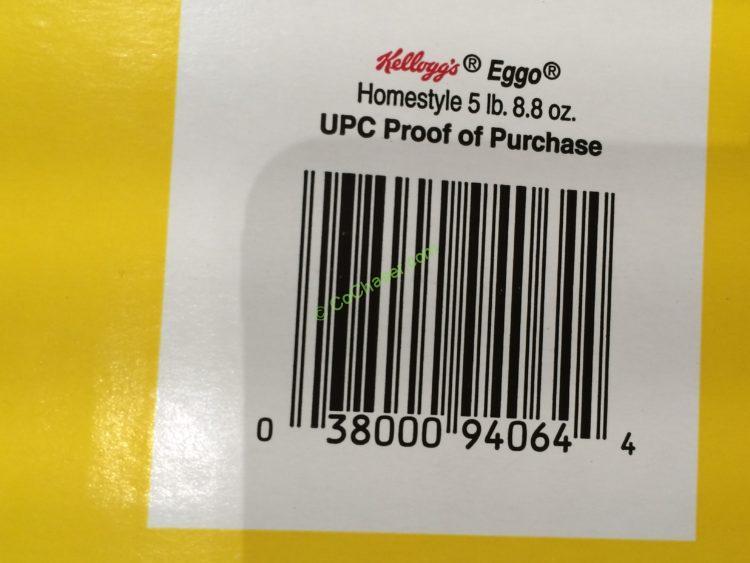 Kellogg S Homestyle Eggo Waffles 72 Count Box Costcochaser