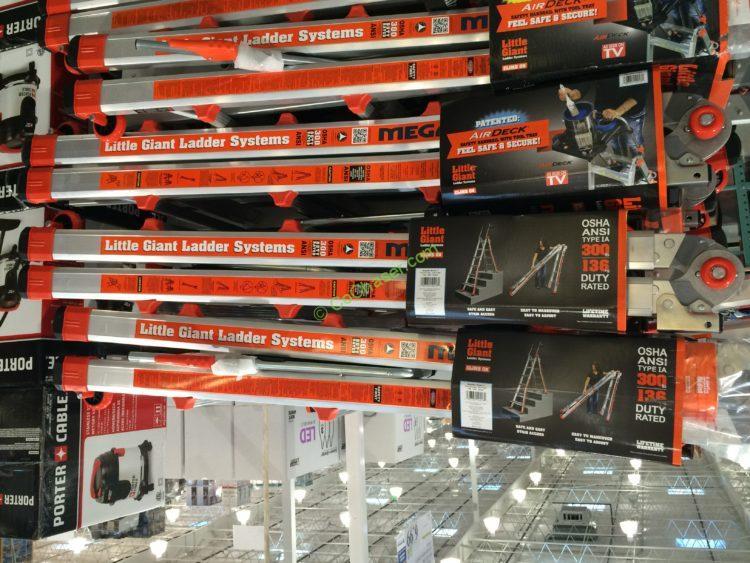 Little Giant Megamax M17 Type Multi Use Ladder Costcochaser