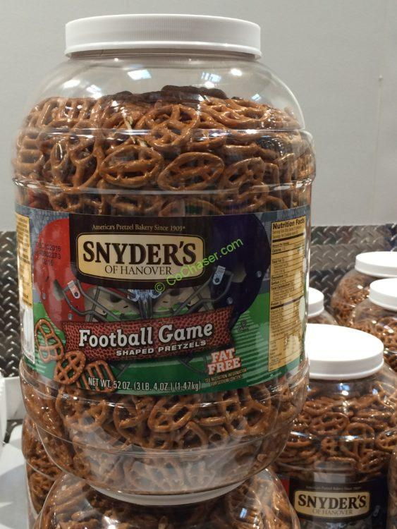 Snyder's Football Game Pretzels 52 Ounce Container