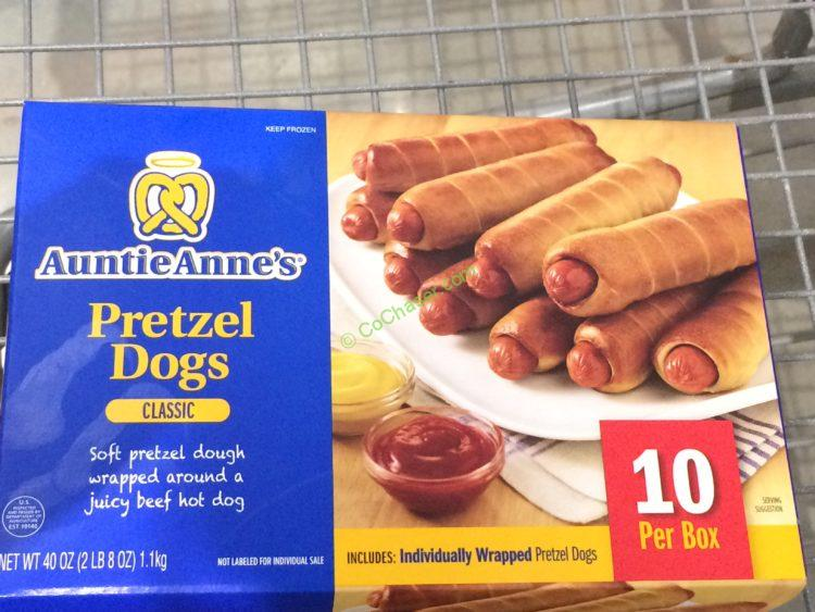 Auntie Ann's Pretzel Dogs 10 Count Box