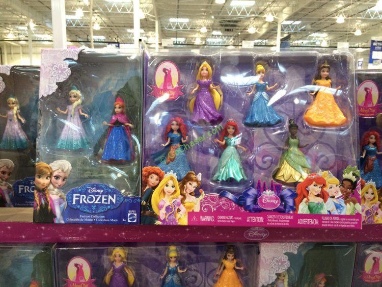 Mattel Disney Princess 8PK Magiclip Dolls