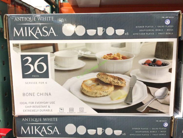 Breathtaking Mikasa Antique White 36 Piece Dinnerware Set Pictures & Inspiring Mikasa Antique White 42 Piece Dinnerware Set Photos - Best ...