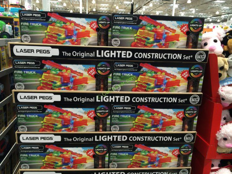 Costco-950142-Laser-Pegs-Fire-Truck-30-In-1-Building-Set-all
