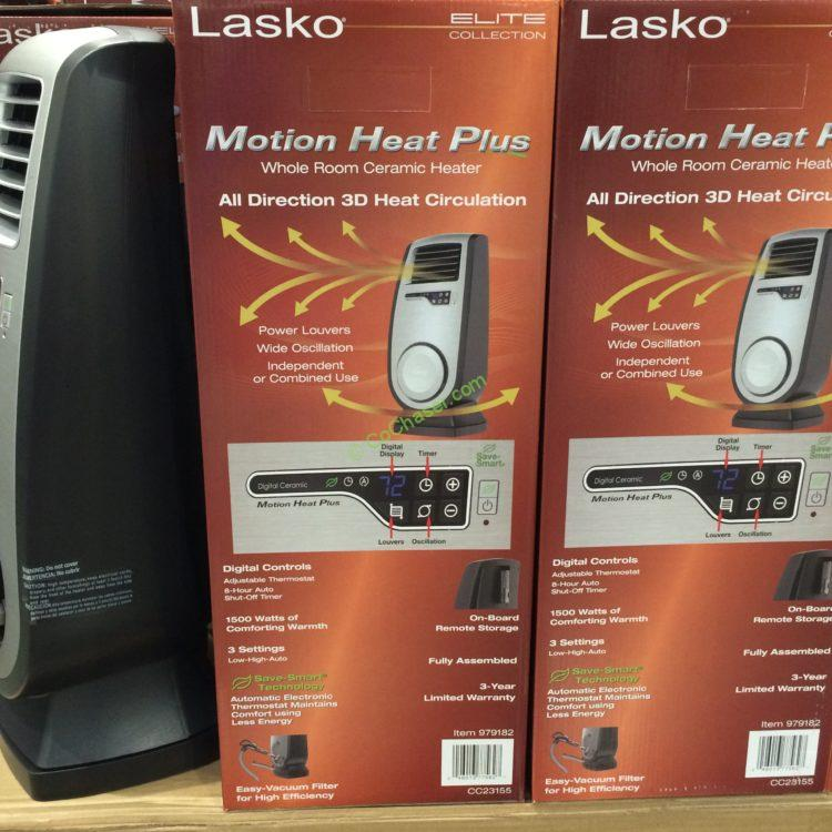 Lasko 3d Motion Heater Model Cc23155 Costcochaser