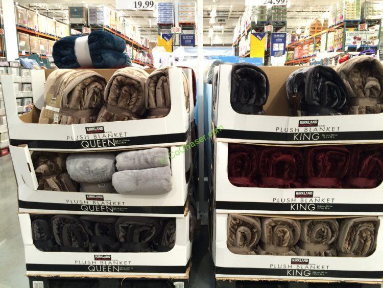 Costco Throw Blanket Mesmerizing Kirkland Signature Blanket Queen Or King CostcoChaser