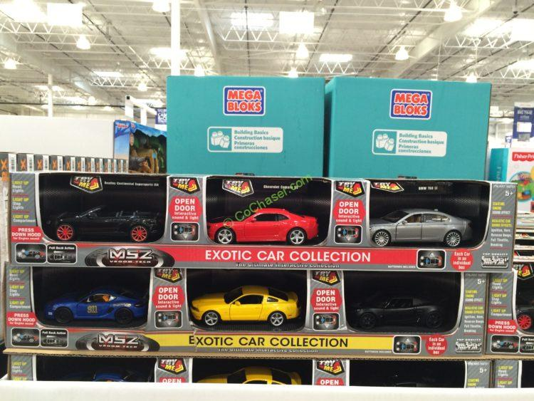 Exotic Car Collection 3 Pack