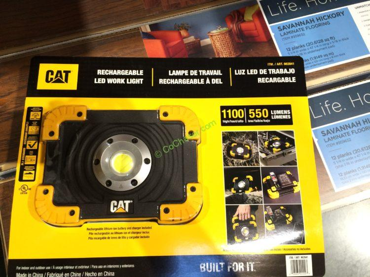 Costco 962841 Cat Led Worklight Rechargeable Part1