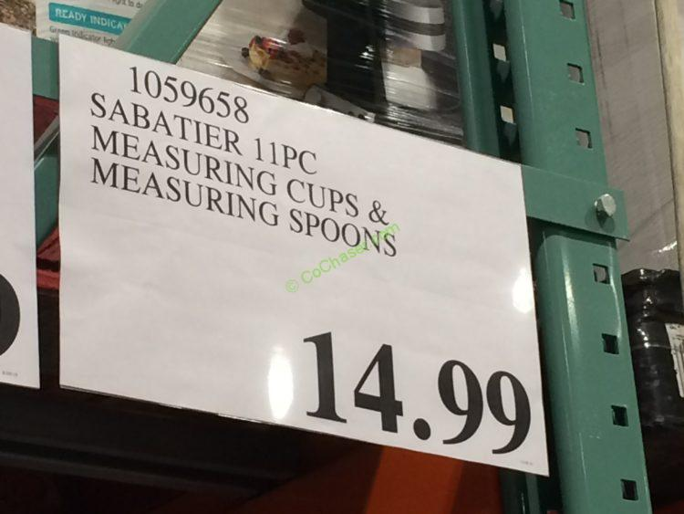 Sabatier 11PC Measuring Cups & Measuring Spoons – CostcoChaser