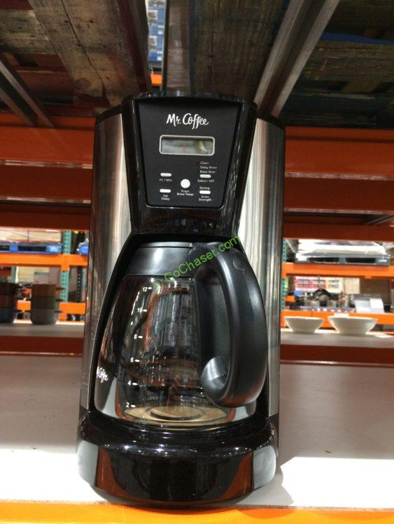 Mr. Coffee 12-Cup Programmable Coffee Maker, Model# BVMC-IMX41
