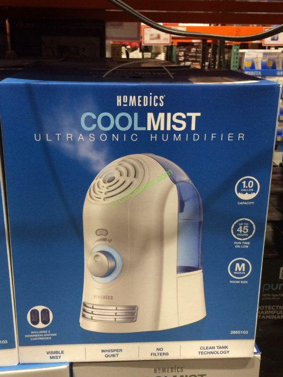 homedics cool mist humidifier manual