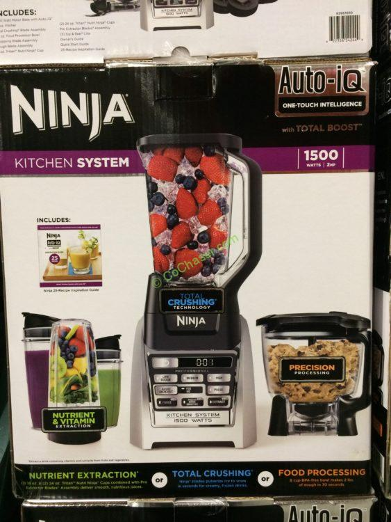 Costco 2983930 Ninja Kitchen System With Auto Iq Total Boost Box Costcochaser