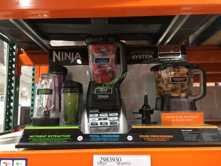 Ninja Kitchen System With Auto Iq Total Boost Costcochaser