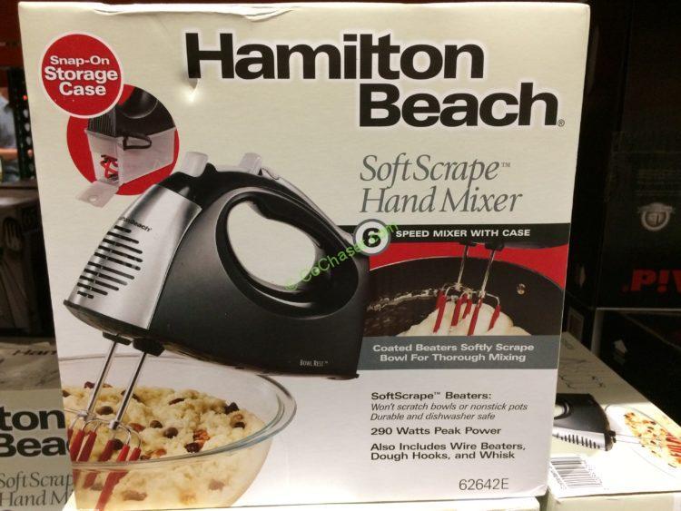 Hamilton Beach Hand Mixer, Model#62642E
