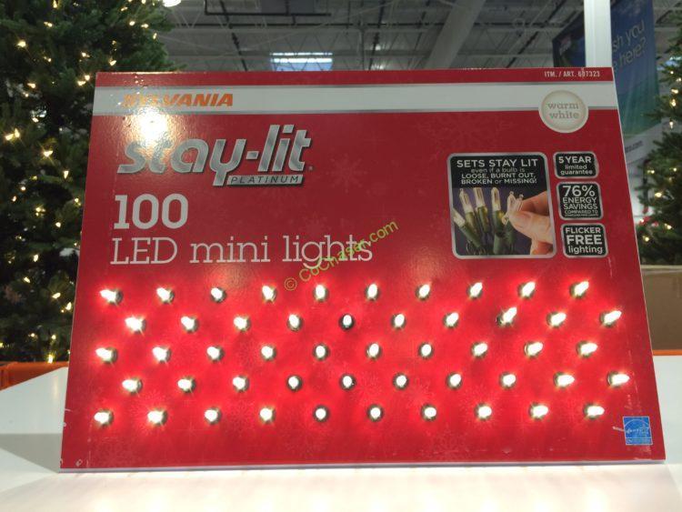 factory price db78f ee400 Sylvania Stay-Lit LED Mini White Lights – CostcoChaser