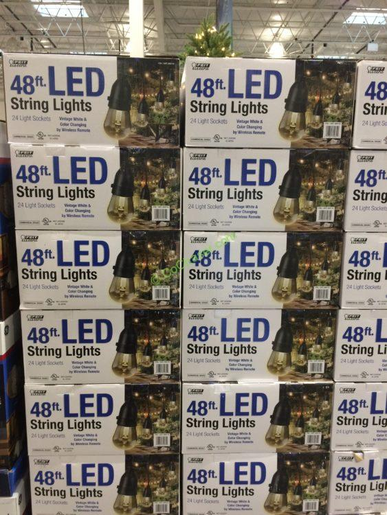 Costco-689116-Feit-Electric-48FT-LED-String-Light- & Feit Electric 48FT LED String Light Set Black u2013 CostcoChaser azcodes.com