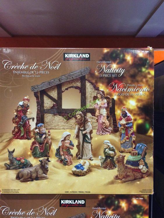 Kirkland Signature Nativity 13 Piece Set