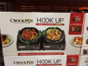 Costco 763183 Crock Pot Hook Up Connectable Entertaining System Box