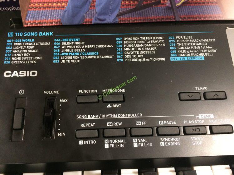 Casio 61 Key Lighted Keyboard Bundle Model Lk 170v