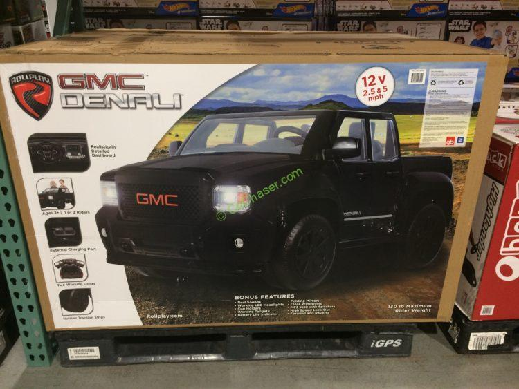 Costco-950759- Rollplay-12V-GMC-Sierra-Denali-Blackout-Edition-box