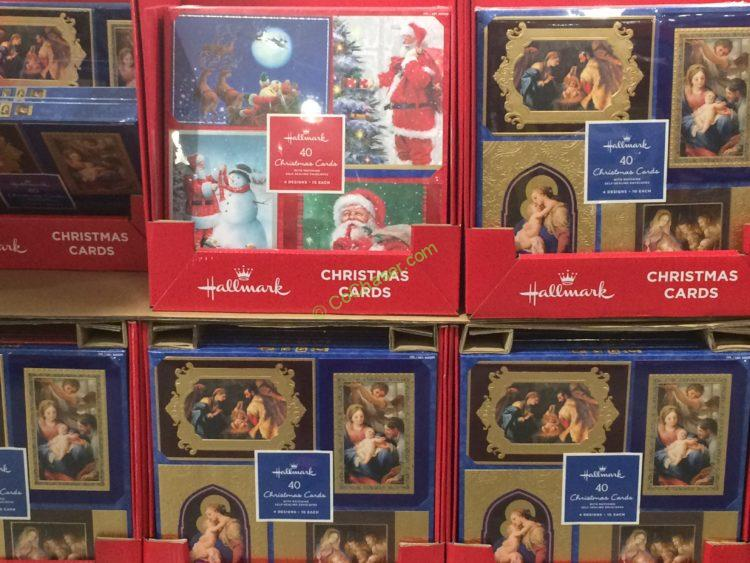 costco 999289 hallmark christmas cards 40count all - Costco Christmas Photo Cards