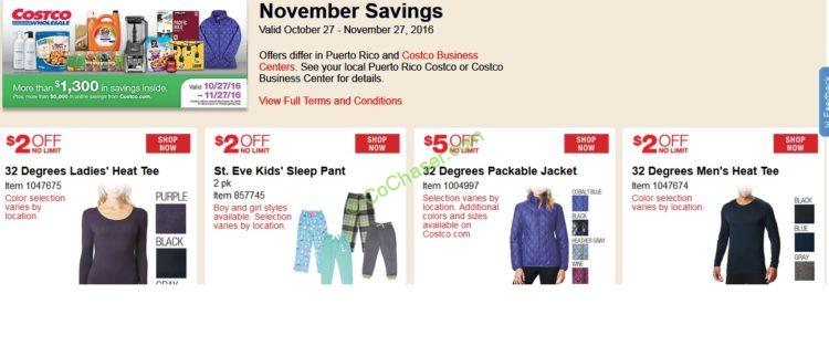 Costco Coupon Book: Oct. 27 – Nov. 27, 2016