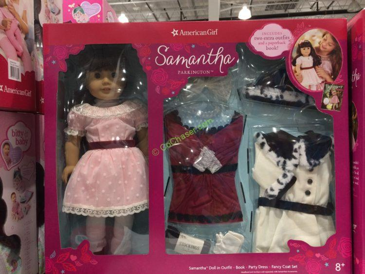 American Girl Samantha Parkington 18 Inch Doll Set, Model# FCJ47-ASIA