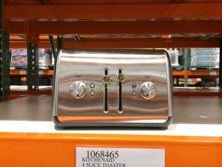 Kitchenaid 4 Slice Toaster with Lift Lever, Model# KMT4115CSS