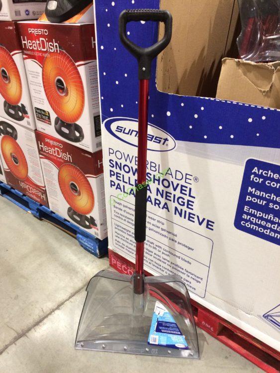Suncast Snow Shovel with Ergo Handle