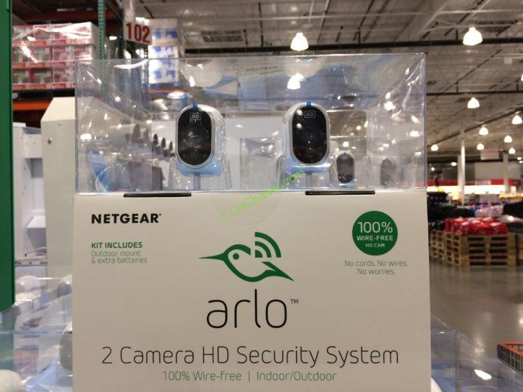 Netgear Arlo 2 Camera HD Wire Free Security System – CostcoChaser