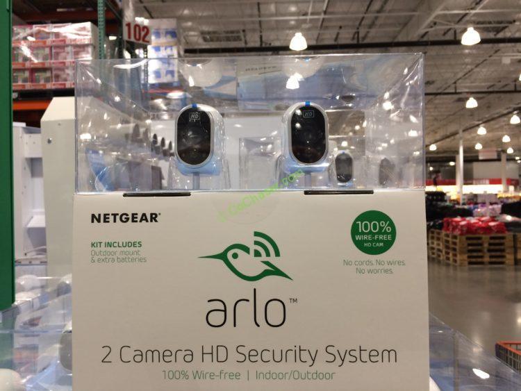 Netgear Arlo 2 Camera HD Wire Free Security System – CostcoChaser