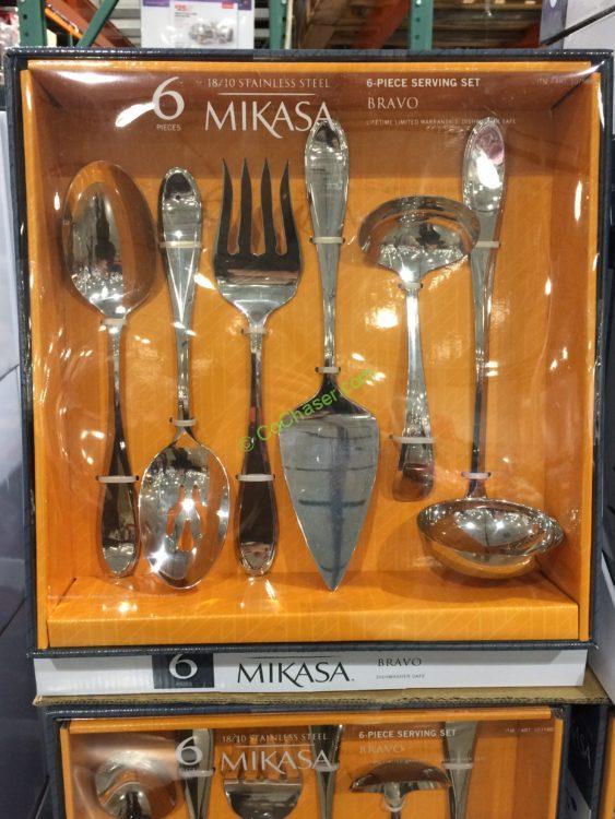 Mikasa Bravo Set of 6 Serving Utensils