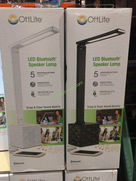 costco 1081925 ott lite led desk lamp with speaker box costcochaser rh cochaser com