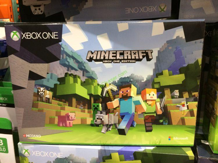 Microsoft Xbox One S Console Minecraft Bundle